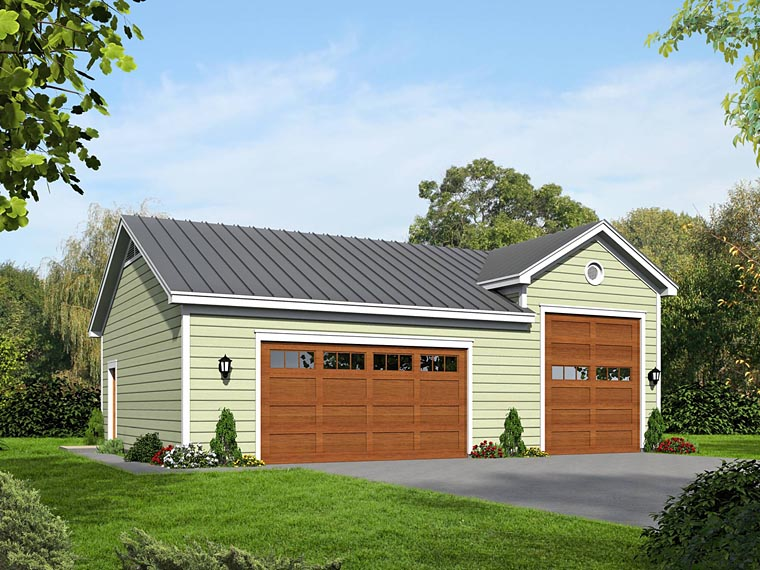 Garage Plan 51462 Elevation