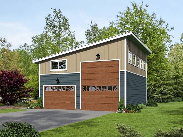Garage Plan 51463 Elevation