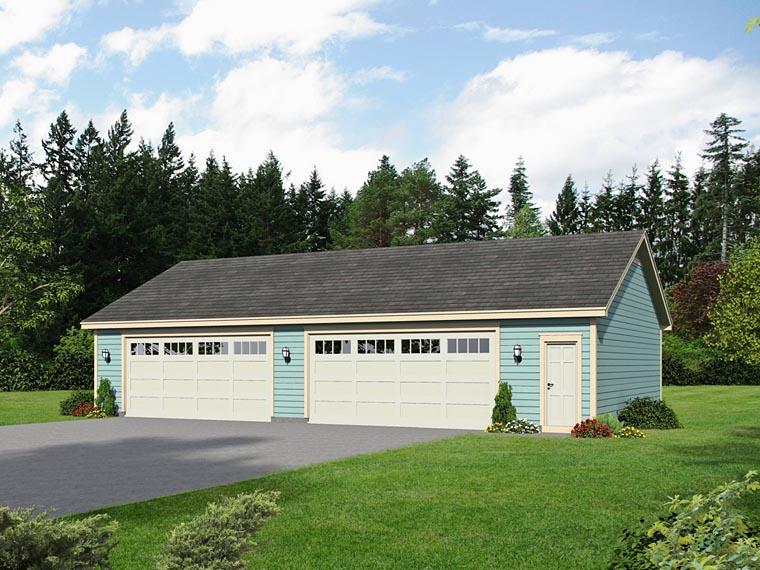 Garage Plan 51465 Elevation