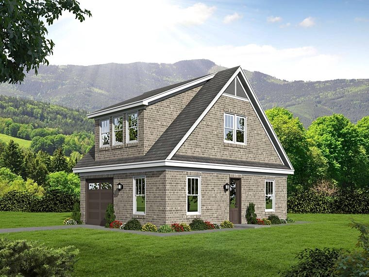 Garage Plan 51466 Elevation