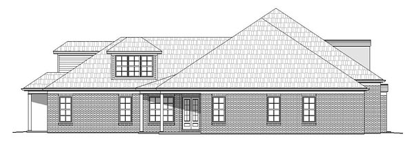 European, French Country, Southern House Plan 51481 with 5 Beds, 6 Baths, 3 Car Garage Picture 1