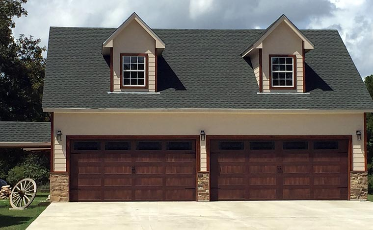 Country Garage Plan 51490 Elevation
