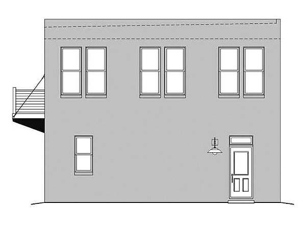 Modern Garage Plan 51493