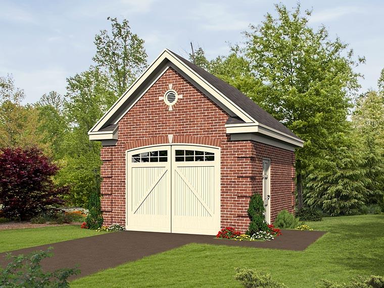 Garage Plan 51500 Elevation