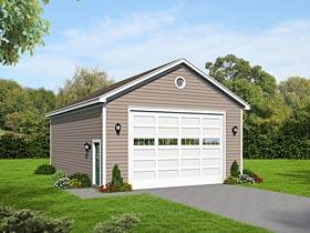 Garage Plan 51504