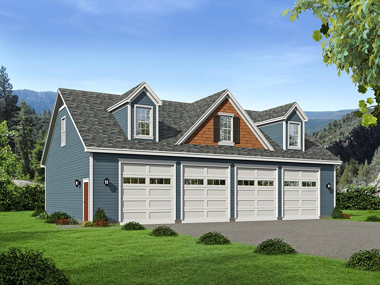 Garage Plan 51505 Elevation