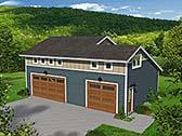 Garage Plan 51515