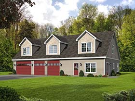 Garage Plan 51518 Elevation