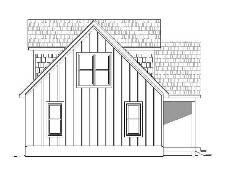 Contemporary, Traditional House Plan 51531 with 3 Beds, 2 Baths Picture 1