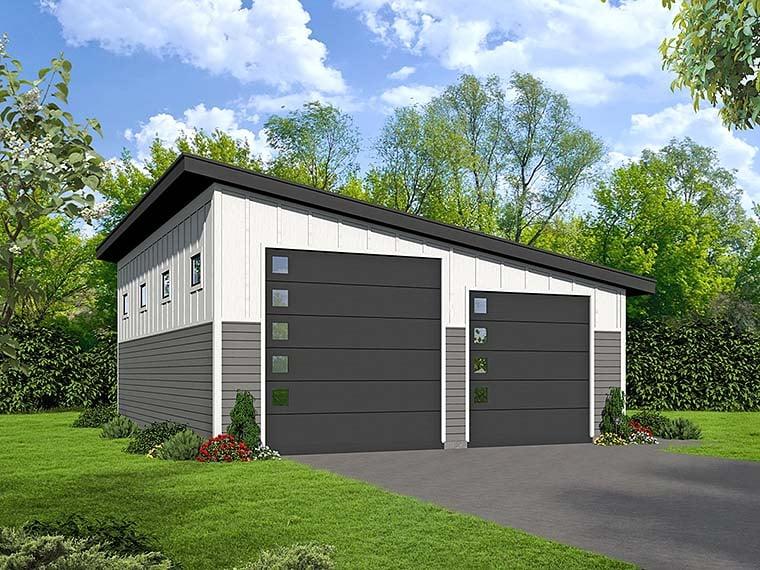 Garage Plan 51539