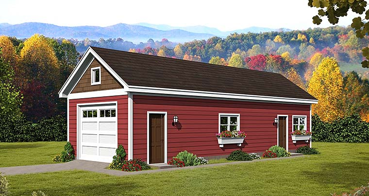 Craftsman Traditional Garage Plan 51544 Elevation