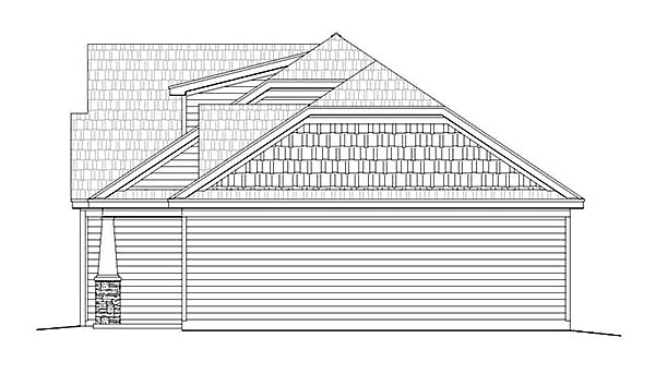 Cottage, Country, Craftsman House Plan 51549 with 3 Beds, 2 Baths, 2 Car Garage Picture 1