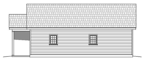 Cabin, Country, Ranch, Traditional House Plan 51561 with 2 Beds, 2 Baths Picture 2