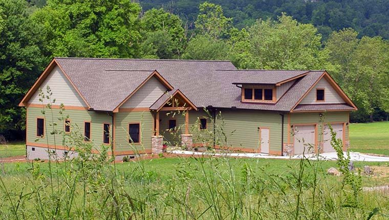 Country Craftsman House Plan 51569