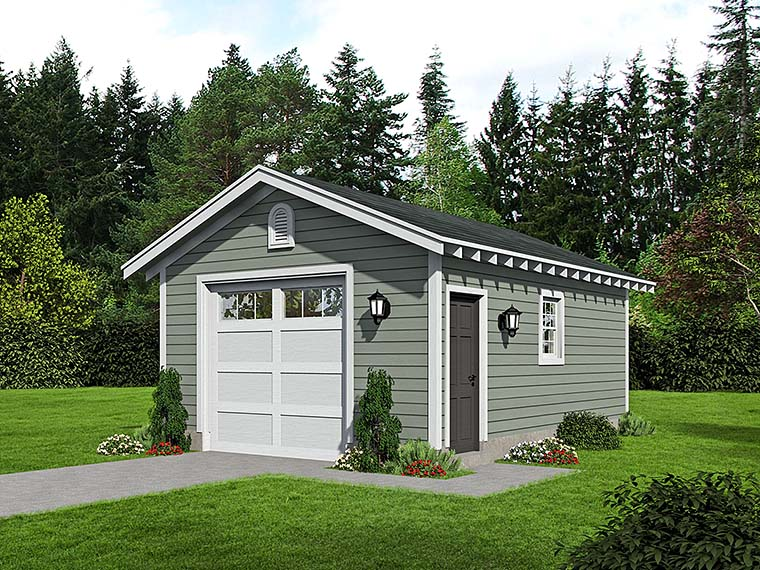 Traditional Garage Plan 51573 Elevation