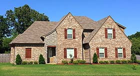 European French Country House Plan 51586 Elevation