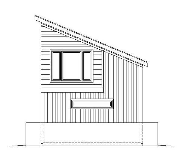 Modern 4 Car Garage Plan 51596 Picture 1