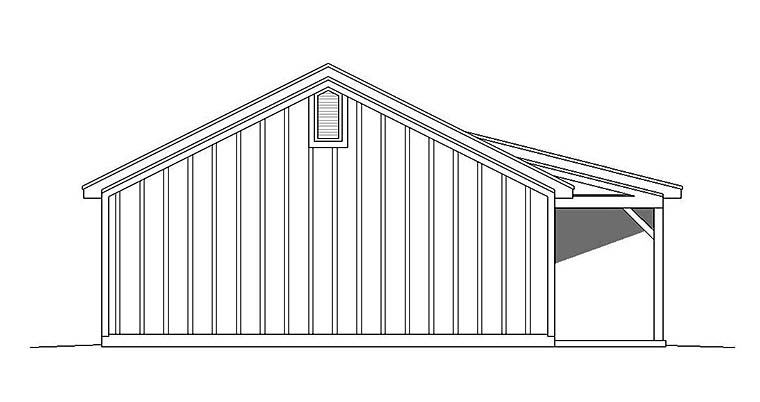Country, Ranch House Plan 51610 with 2 Beds, 1 Baths Picture 2