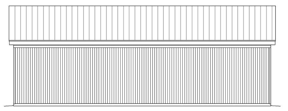 Contemporary Modern Garage Plan 51625 Rear Elevation
