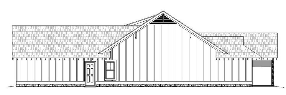 Country, Craftsman, Southern House Plan 51631 with 3 Beds, 3 Baths, 2 Car Garage Picture 1