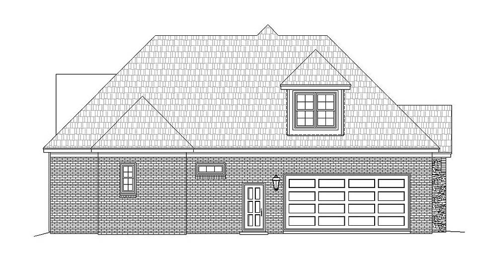 French Country House Plan 51633 with 3 Beds, 4 Baths, 2 Car Garage Picture 2