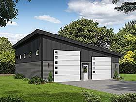 Garage Plan 51644