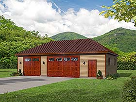 Garage Plan 51661