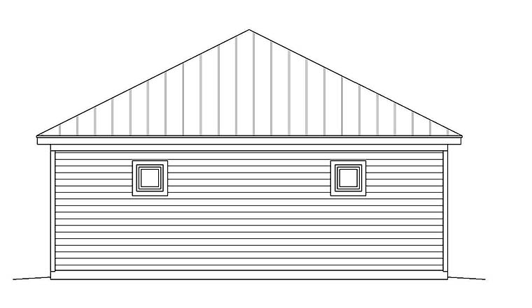 3 Car Garage Plan 51661 Picture 2