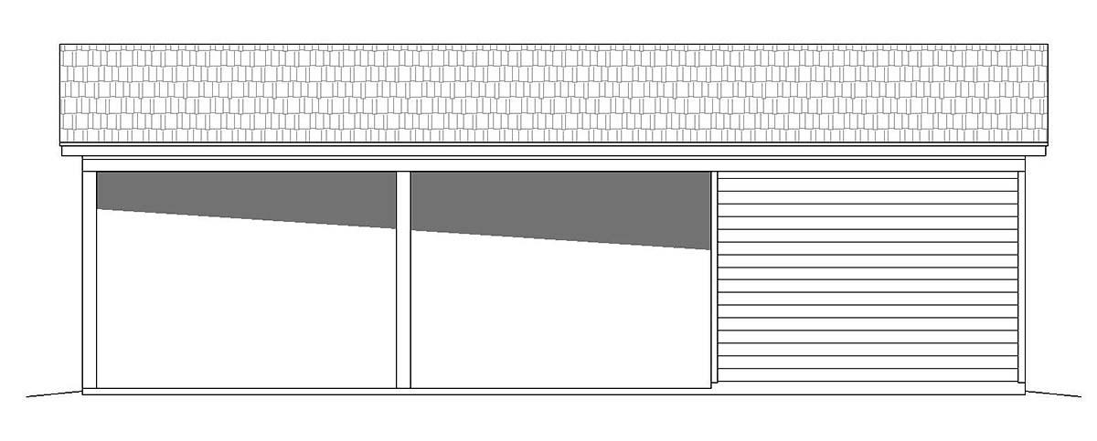 Bungalow, Cape Cod, Coastal, Colonial, Cottage, Country, Craftsman, Farmhouse, Prairie, Ranch, Saltbox, Traditional, Tudor 3 Car Garage Plan 51673 Picture 1