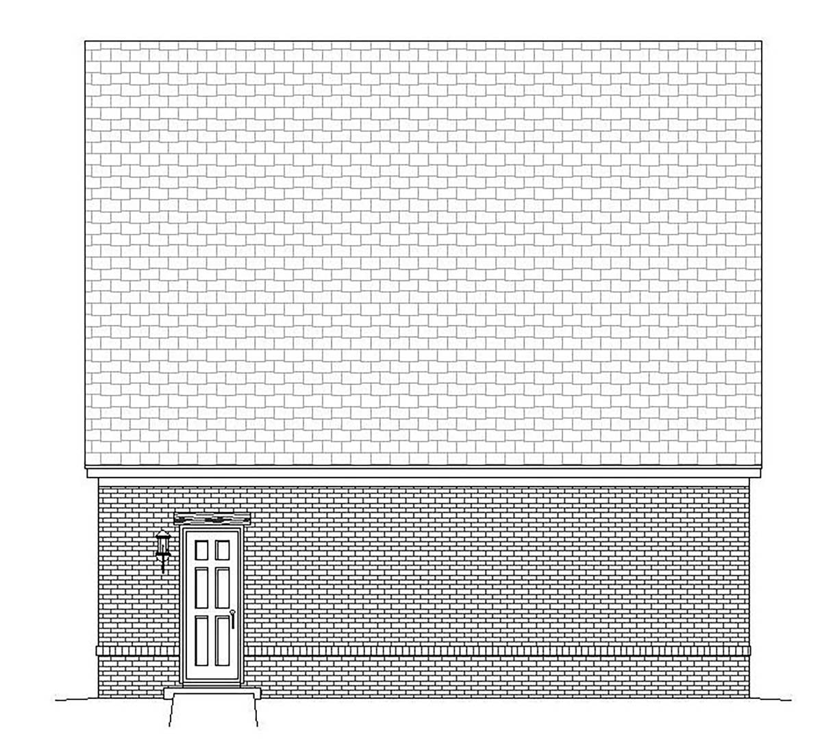 European, French Country, Traditional 2 Car Garage Plan 51684 Picture 1