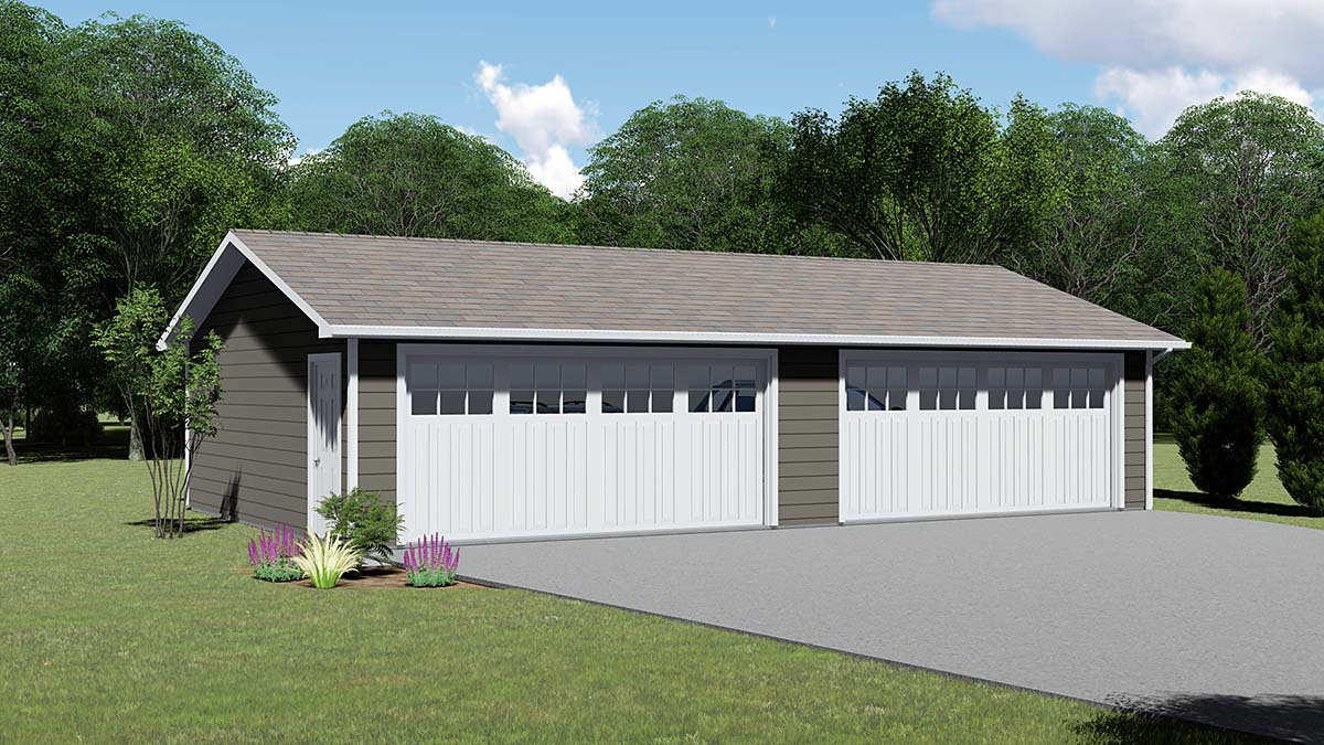 Garage Plan 51837