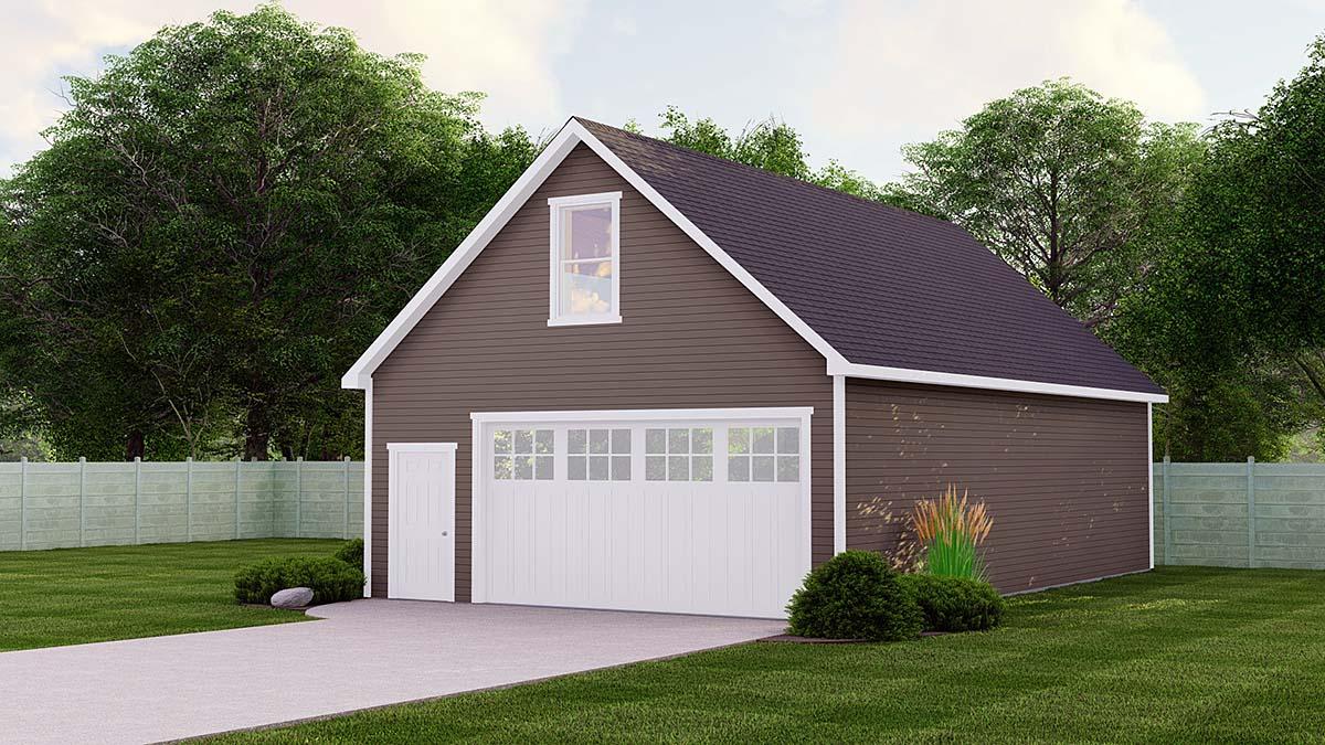 Garage Plan 51843
