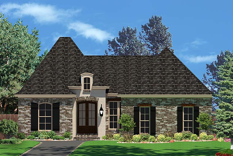 Country French Country Traditional House Plan 51903 Elevation