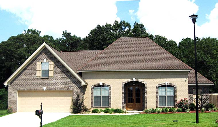 Country European French Country Southern House Plan 51907 Elevation