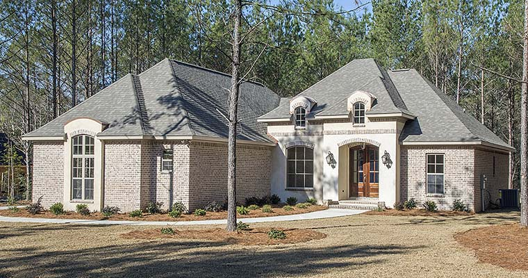 House Plan 51925 | Country French Country Southern Style Plan with 2146 Sq Ft, 4 Bedrooms, 3 Bathrooms, 2 Car Garage Elevation