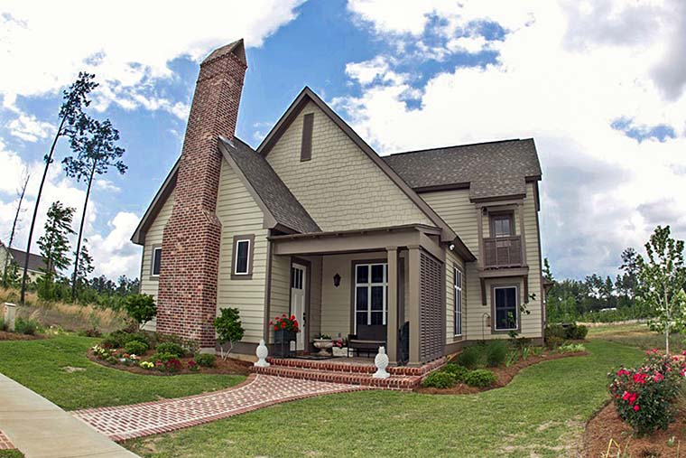 Cottage, Country, Craftsman, Southern, Traditional House Plan 51928 with 4 Beds, 4 Baths, 2 Car Garage Elevation