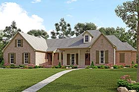 Country French Country Traditional House Plan 51960 Elevation