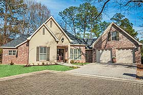 Country French Country Traditional House Plan 51969 Elevation