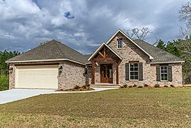 Country French Country Traditional House Plan 51972 Elevation
