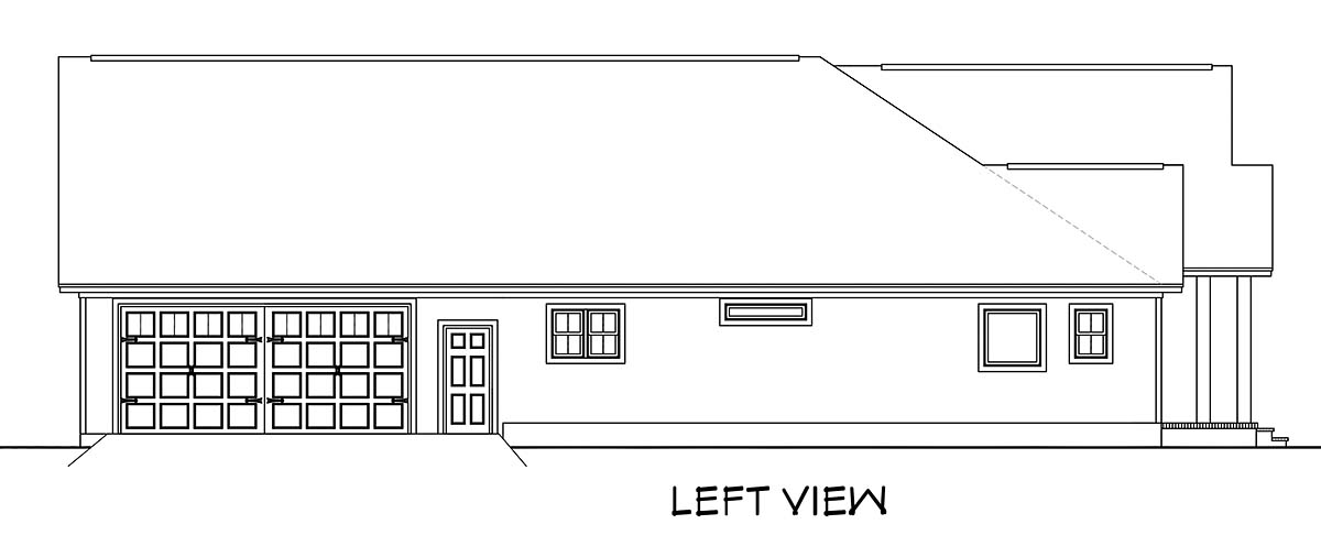 Country, Farmhouse, Southern House Plan 51984 with 3 Beds, 3 Baths, 2 Car Garage Picture 2
