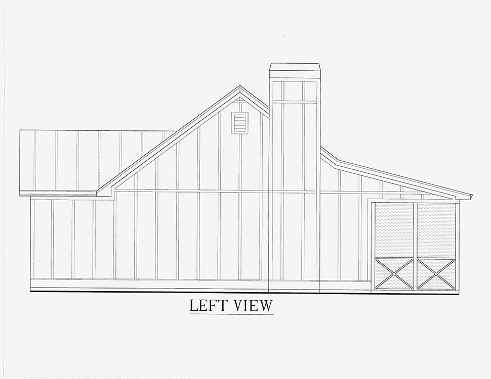 Cabin, Cottage, Country House Plan 52011 with 1 Beds, 1 Baths Picture 14