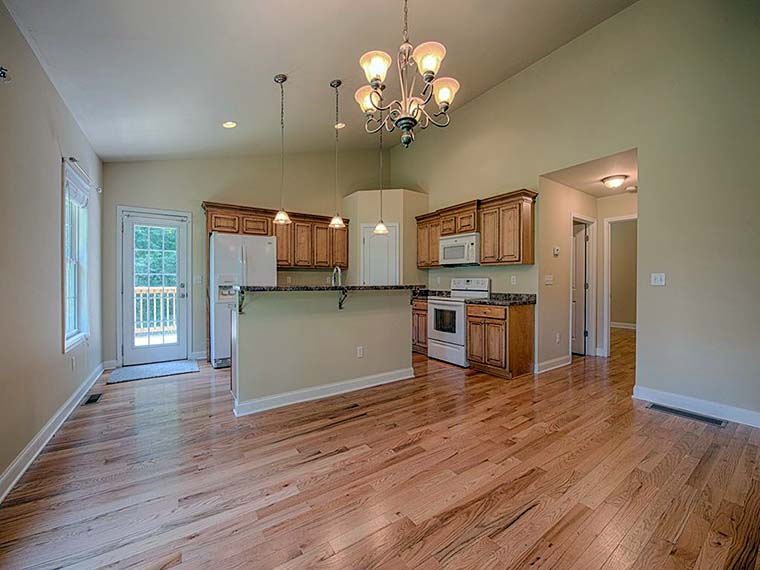 Bungalow, Cottage House Plan 52016 with 3 Beds, 3 Baths, 2 Car Garage Picture 5