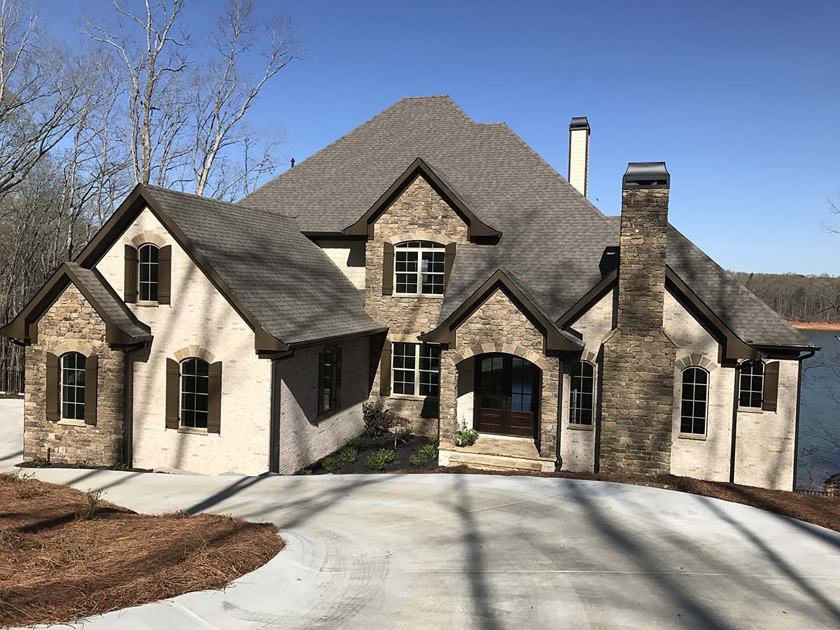 European House Plan 52023 with 4 Beds, 5 Baths, 3 Car Garage Elevation