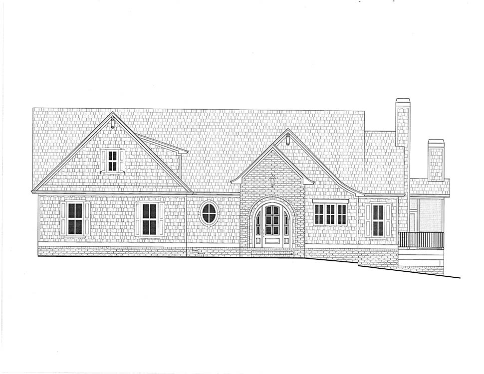 Coastal, Farmhouse, Southern House Plan 52025 with 4 Beds, 5 Baths, 3 Car Garage Picture 1