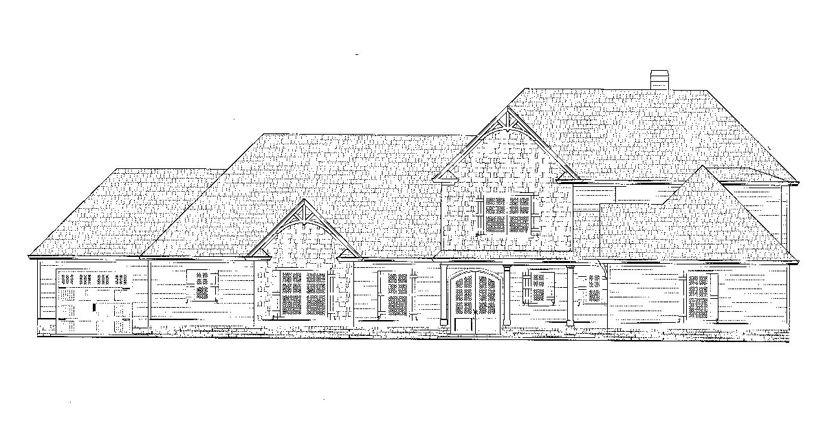 Craftsman, Farmhouse House Plan 52030 with 4 Beds, 4 Baths, 4 Car Garage Picture 1