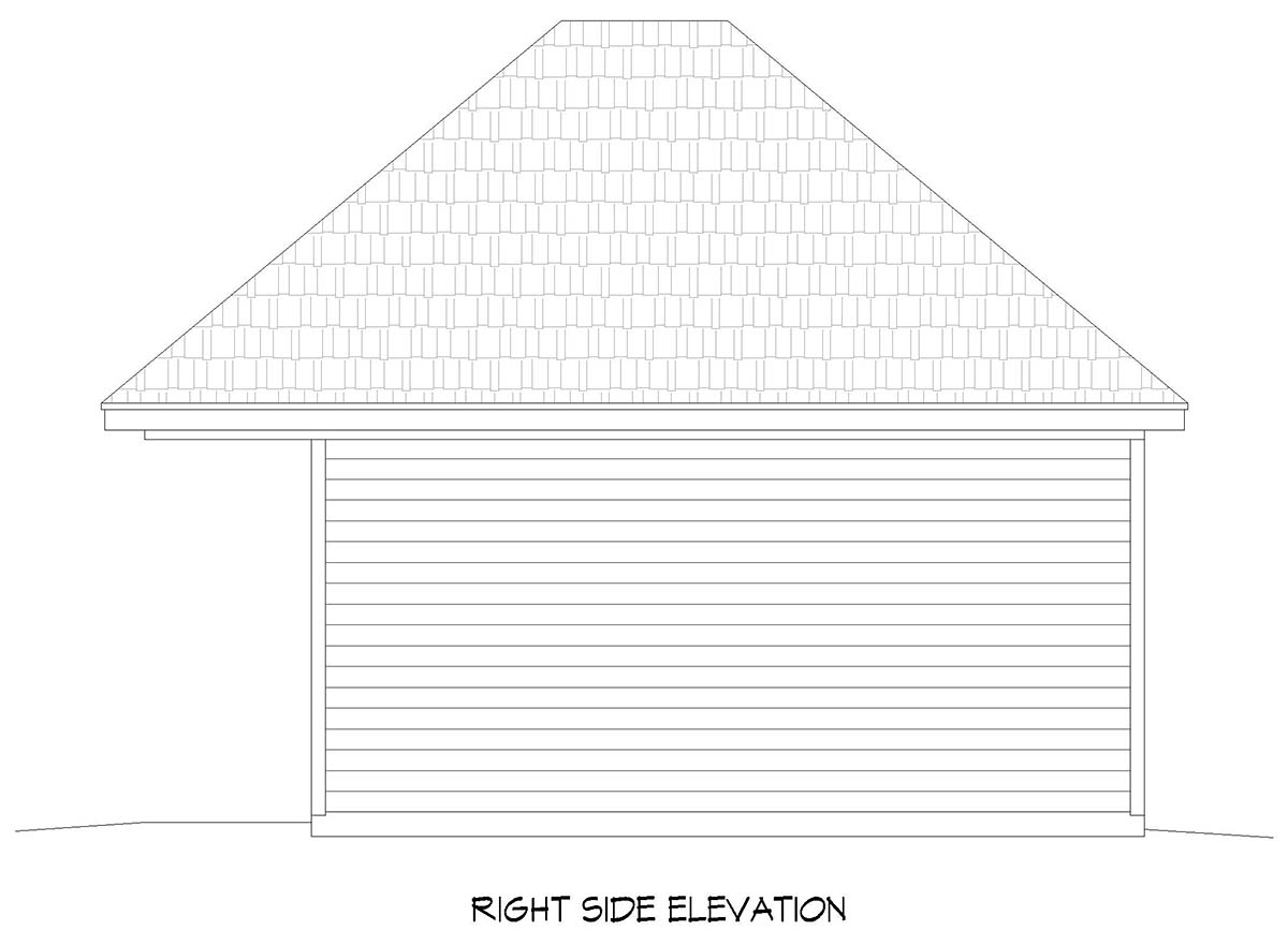 Contemporary 2 Car Garage Plan 52102 Picture 1