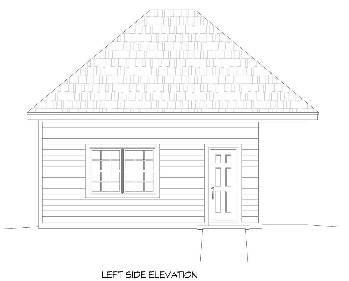 Contemporary 2 Car Garage Plan 52102 Picture 2
