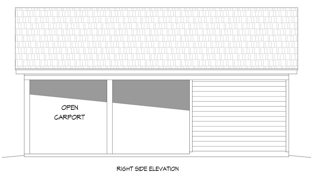 Country, Ranch, Traditional 2 Car Garage Plan 52103 Picture 1