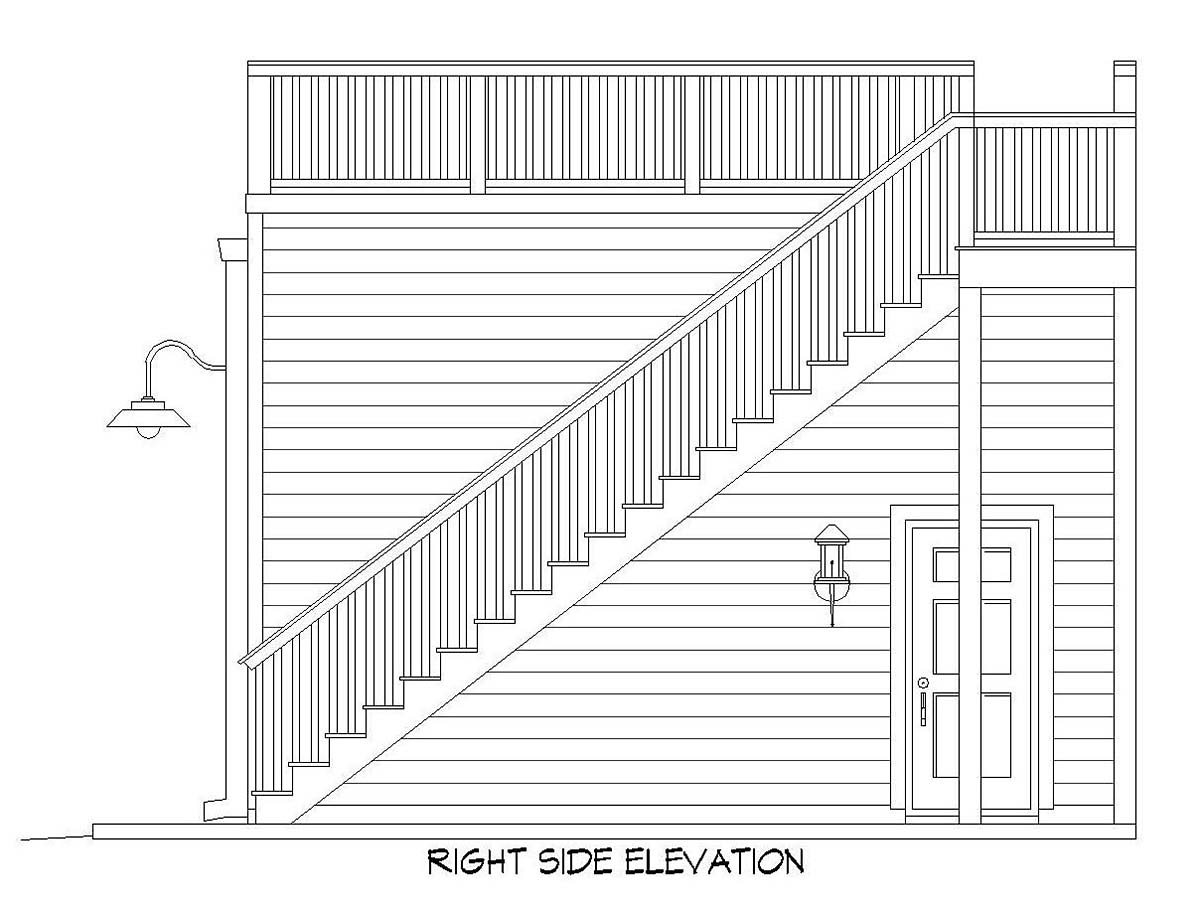 2 Car Garage Plan 52107 Picture 1