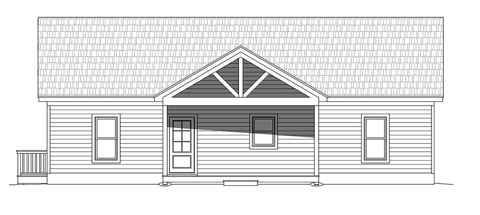 Country, Traditional House Plan 52125 with 4 Beds, 4 Baths Picture 3